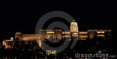 Buda Castle at night - Budapest