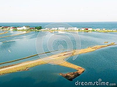 Budaki Lagoon, Shabolat. So-called «Ukrainian Mesopotamia».
