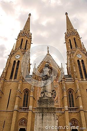 Free Budapest, Hungary Gothic Style Church Of St. Elizabeth Royalty Free Stock Images - 115996719