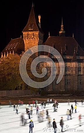 Budapest iceskating