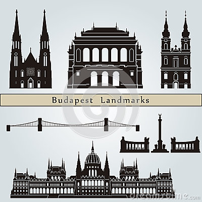 Budapest landmarks and monuments