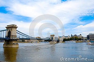 Budapest over river 2