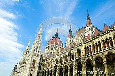 Budapest Parliament Building 2