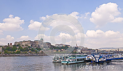 Budapest riverboat Editorial Image