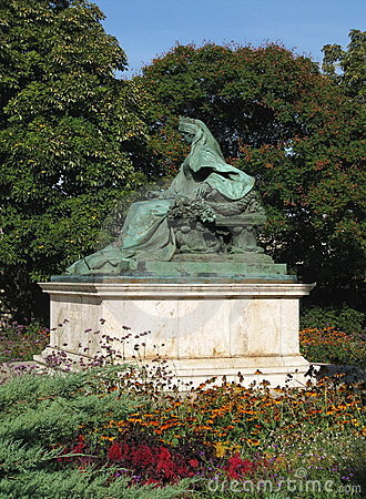 Budapest, statue of Sissi