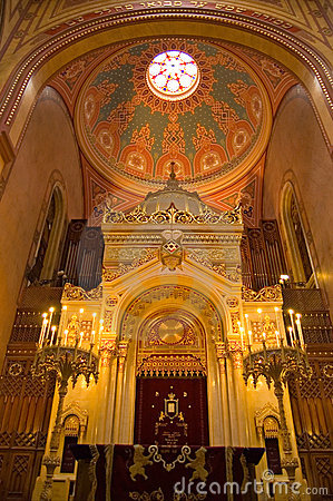 Free Budapest Synagogue Stock Photography - 1437052