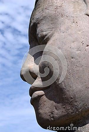 Budda twarz