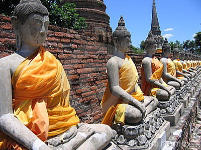 Buddha in Ayutthaya