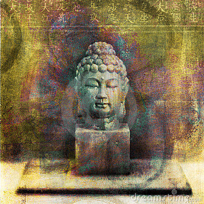 Free Buddha Bust Royalty Free Stock Photos - 8980188
