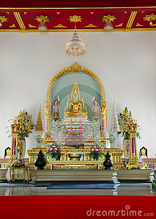 Buddha in church