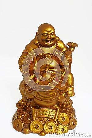 Buddha di risata