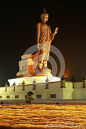 The Buddha on fire III