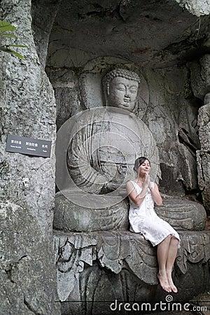 The buddha and the girl