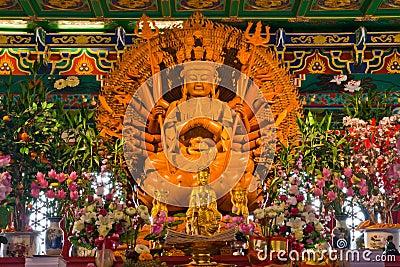 Buddha Golden statue