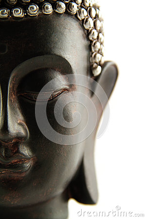 Buddha Head isolated