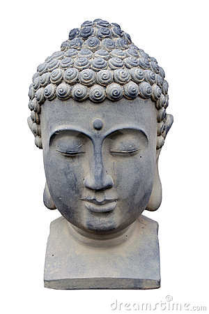 Free Buddha Head Statue Royalty Free Stock Photos - 24243668