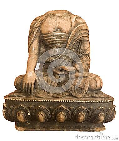 Free Buddha Headless Isolated Stock Photo - 12278340