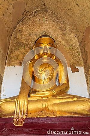 Buddha Image,   Bagan in Myanmar (Burmar)