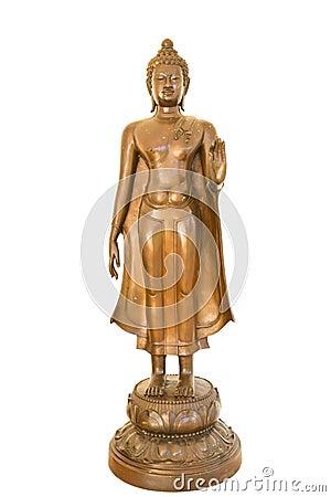 Buddha image isolate