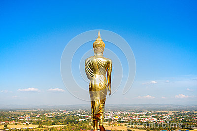 Buddha Image in Northern of Thailand