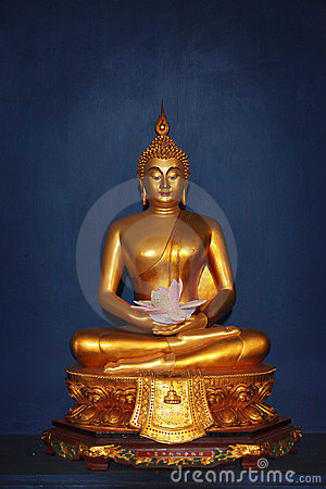 Buddha image from Thailand