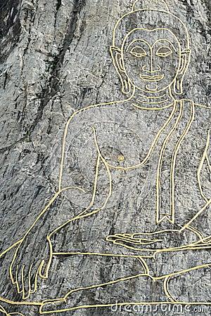 Buddha image,Thailand