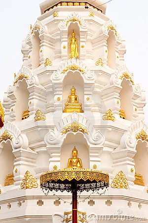 Buddha images in pagoda