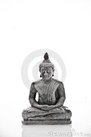 Buddha irritabile che meditating