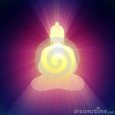 Free Buddha Light Halo Glowing Bright Flare Stock Photos - 28618893