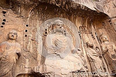 Buddha,Longmen Caves