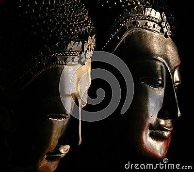 Buddha Masks