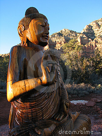 Buddha In Mystical Sedona