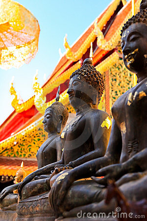 Free Buddha Of Thailand Royalty Free Stock Photo - 15098425