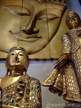 Buddha ornaments, Thailand.