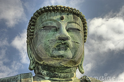 Buddha s face.