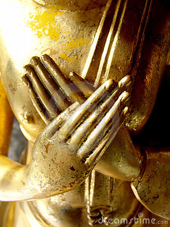 Free Buddha S Hands Royalty Free Stock Images - 1483949