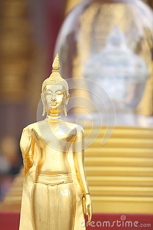 Buddha s relics and modeling of Buddha.
