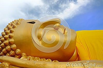 Buddha-A sleeping Buddha