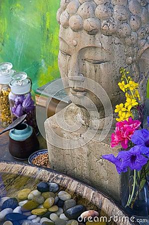 Free Buddha Spa Royalty Free Stock Photography - 738787