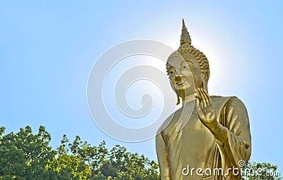 The Buddha statue