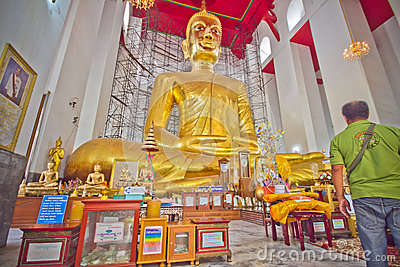 Buddha Statue Editorial Stock Photo