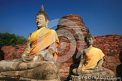 Buddha Statue - Ayuthaya Thailand