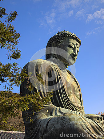 Buddha statue in Kamakura, Japan
