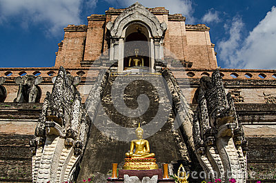 Buddha-Statue, Wat Chedi Luang