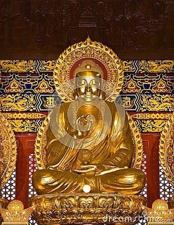 Buddha statue in Wat-Leng-Noei-Yi2 at Thailand