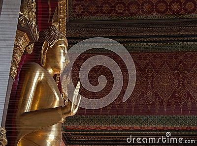 Buddha statue of Wat Phra Pathom Chedi