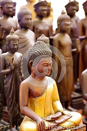 Free Buddha Statues Royalty Free Stock Photo - 29271885
