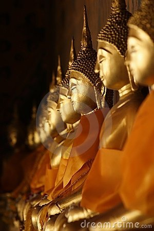 Free Buddha Statues Stock Photography - 3050282