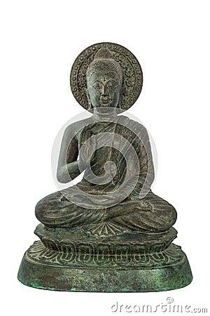 Free Buddha Statues Bless. Stock Image - 54826841