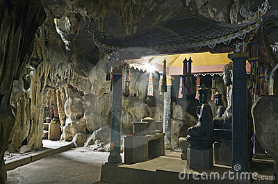 Buddha Statues in Cave